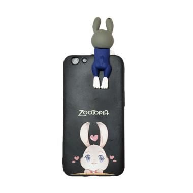 OEM Marcell Peeking Zootopia Casing for Oppo F1S