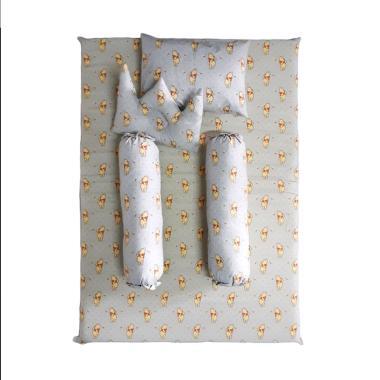 MYBEDS Pooh Kasur Busa Baby Crib Tempat Tidur Bayi