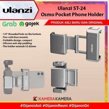 harga KameraKamera Ulanzi ST-24 Osmo Pocket Phone Holder Silver Blibli.com