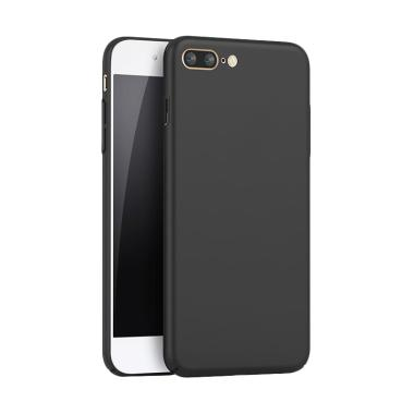 QCF Hardcase Baby Skin Eco 360 Case ... (Ukuran 5.5 Inch) - Hitam