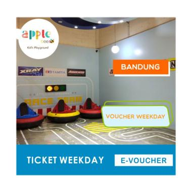 Apple Bee Kid's Playground Weekday Voucher [Bandung]