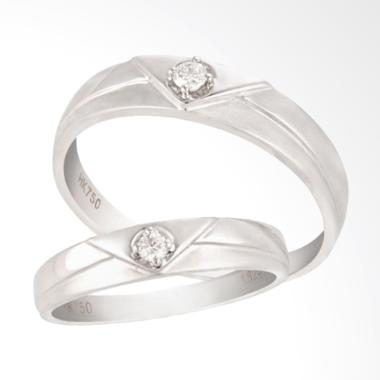 Posh Jewellery GY0122 Cincin Wedding Ring Basic Collection