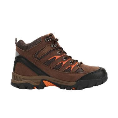 Snta Boot Sepatu Hiking Pria - Brown Orange [475]