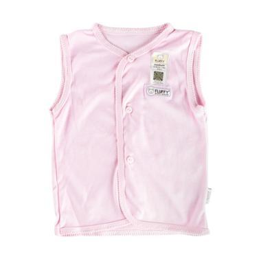 Fluffy BKS Kutung Baju Bayi - Pink