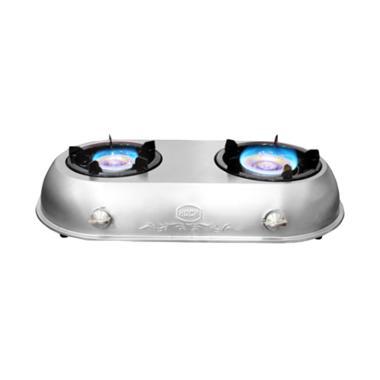 Hock Kompor Gas Dwimutiara HP-220DM - Silver