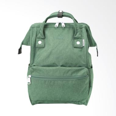 Anello AT-B2261 Polyester Tas Ransel Backpack Regular Size - Green