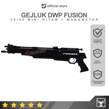 Gejluk Dwp Fusion 25/40 Mini Hitam Manometer