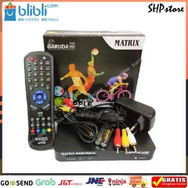 Receiver Tv Set Top Box MATRIX Garuda DVB T2 Digital Original Garansi