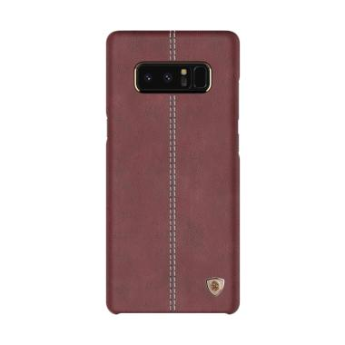 Nillkin Englon Leather Cover Casing For Samsung Galaxy Note 8