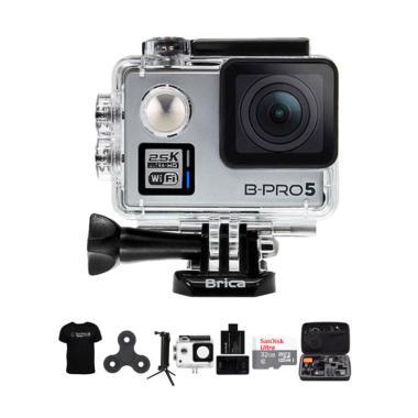 Brica B-PRO 5 Alpha Plus 2 Combo 3  ... et Action Camera - Silver