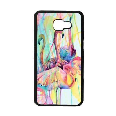 Acc Hp Pink Flamingo Watercolor E17 ... or Samsung Galaxy A5 2017
