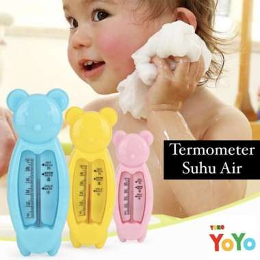 harga Termometer Air Mandi Bayi Bear - Pengukur Suhu Air Mandi Baby Praktis multicolor Blibli.com