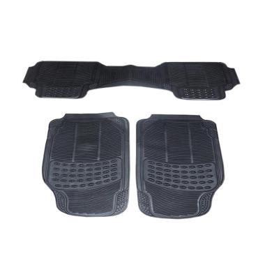 DURABLE Comfortable Universal PVC K ... Jaguar XF - Black [3 pcs]