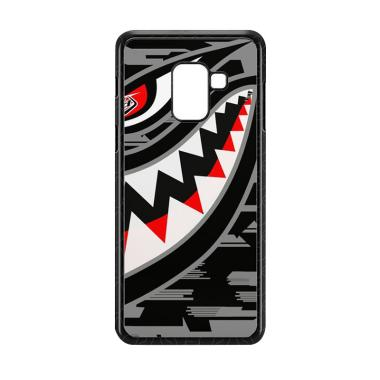 Cococase Troy Lee Designs P51 grey E1529 Custom Casing for Samsung Galaxy A8 2018
