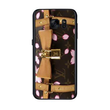Acc Hp Louis Vuitton Bag Brown Flow ... ing for Samsung Galaxy S7