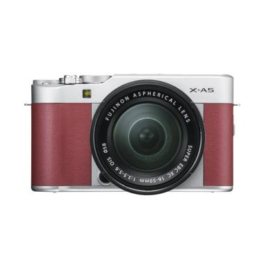 Fujifilm X-A5 XA5 KIT 15-45mm Kamera Mirrorless Instaxshop - Pink