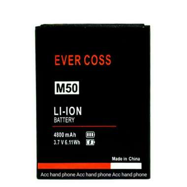 harga Asli Baterai Handphone Evercoss M50 Star A75B M50 Original Oem Berkualitas Blibli.com