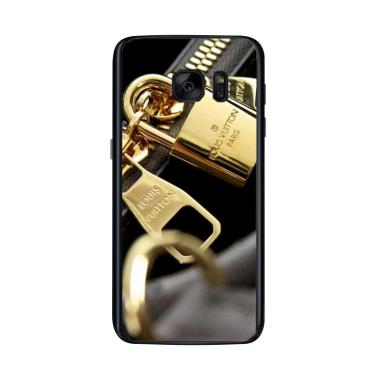 Acc Hp Louis Vuitton Authentic Mono ... asing for Samsung S7 Edge