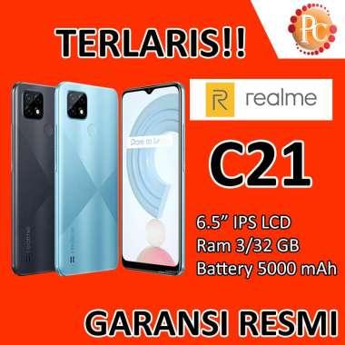 harga Hp Realme C21 3/32 Ram 3 Rom 32 Garansi Resmi Random Blibli.com