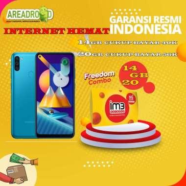 harga Samsung M11 [3/32 GB] Samsung Galaxy M11 3 GB 32 GB Bundle Indosat Garansi Resmi Bundle 14GB Blibli.com
