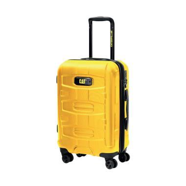 Cat Tank Cargo Luggage Trolley Bag - Yellow [28 Inch]