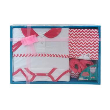 Kiddy 11161 New Baby Gift Set Pakaian Bayi Perempuan - Pink