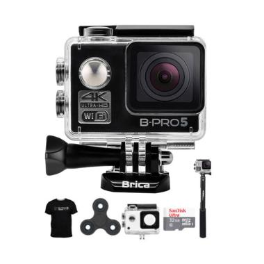 BRICA B-PRO 5 Alpha Edition AE2 Com ... pin Action Camera - Hitam
