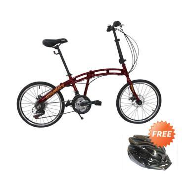Paket Bundling - Viva Cycle Comet F ... + Free Helm Sepeda Dewasa