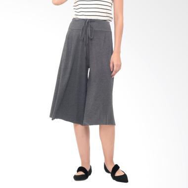 Mooimom Cotton Wide Leg Trouser Celana Pendek Ibu ... 42ab74f9f2