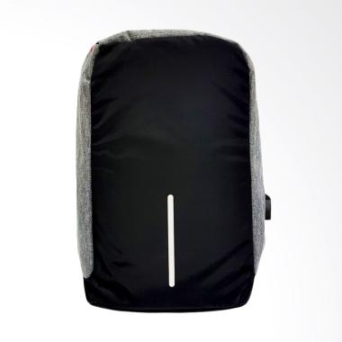 Lucky Anti Theft  External USB Port Charge Backpack