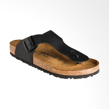 Birkenstock Ramses Black BI Sandal Pria - Black