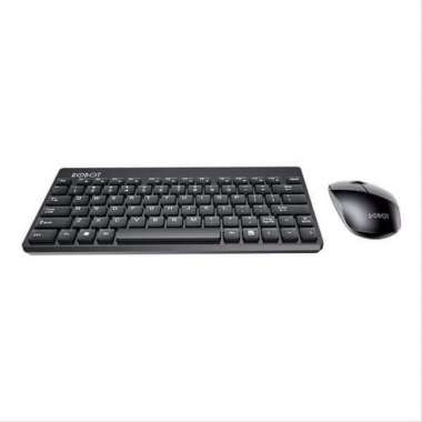 harga Robot KM3000 Portable Mini Wireless Keyboard Mouse Combo Merah Blibli.com