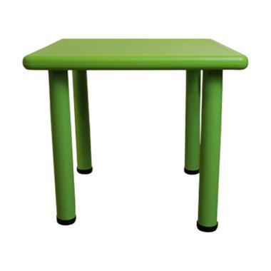 Atria Furniture Shawn Kids Square Table Meja Belajar Anak - Green