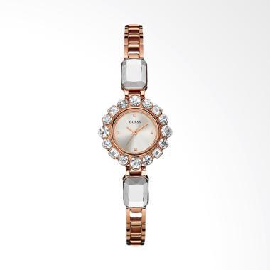 GUESS U0701L3 Dressy Jewelry Inspired Jam Tangan Wanita - Rose Gold 6ddea5ca0e