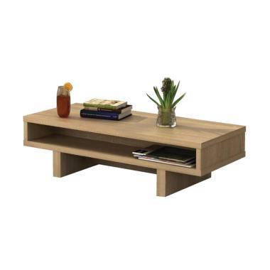 JYSK Presse Coffee Table - Sonoma Oak [109 x 50 x 32 cm]