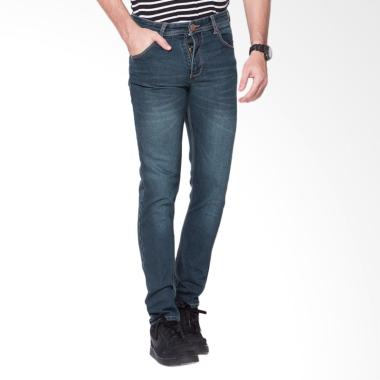 2Nd RED Slim Fit Premium Celana Jeans Pria - Blue Grey [133259]