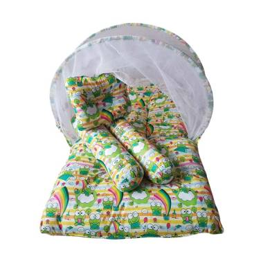 Babybess Buubuu Keropi Kasur Kelambu Tempat Tidur Bayi - Rainbow