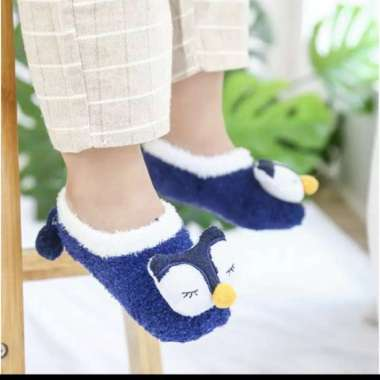 harga Sepatu Prewalker Kaos Kaki Korea Anak Bayi Kaus Kaki Bulu Lembut - Biru Navy, S Multicolor Semua Ukuran Blibli.com