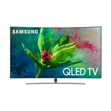 Samsung QA65Q8CNA QLED UHD 4K Smart Curved LED TV [65 Inch] Silver