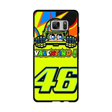 Acc Hp Valentino 46 J0348 Custom Casing for Samsung Galaxy Note FE