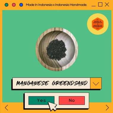 harga Jual Manganese Greensand / Pasir Aktif / Filter Air 100 GR Murah Blibli.com