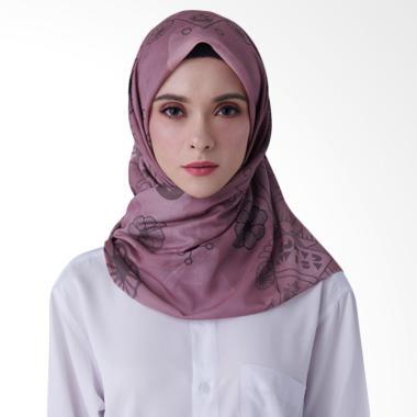 Suqma Print Kaka Hijab - Dusty Pink