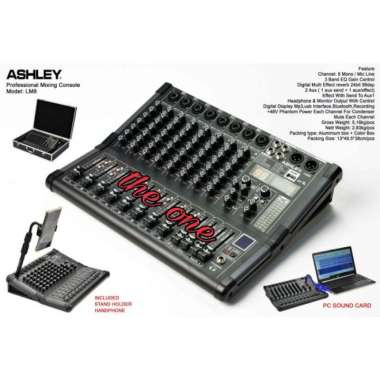 harga AUDIO MIXER ASHLEY LM 8 DSP 8 channel ORIGINAL MULTICOLOUR Blibli.com