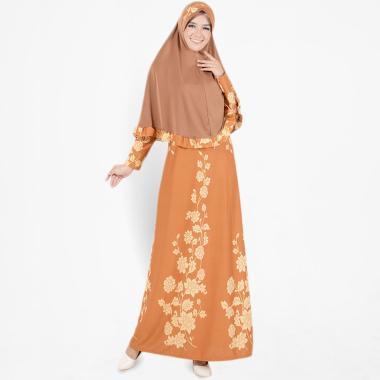 Koesoema Clothing Setelan Gamis Syari Aisha Long Dress Maxi Muslim