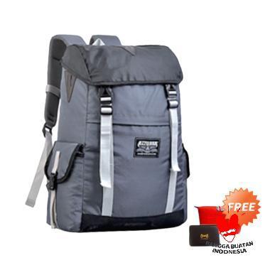 Azzurra Tas Ransel Pria - Grey Komb ... Bag Pouch or Dompet Kartu