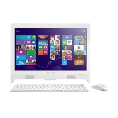 harga Lenovo AIO 330-20IGM-F0D7000KID Desktop PC - White [J4005/ 4GB DDR4/ 500GB/ 19.5 Inch/ Win10] Blibli.com