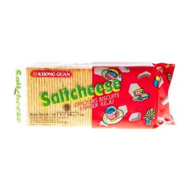 Khong Guan Saltcheese Crackers Biskuit [200 g]