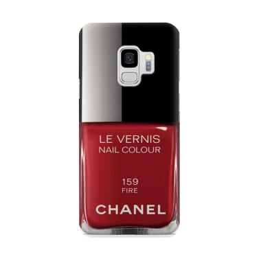 harga Indocustomcase Chanel 159 Fire Cover Casing for Samsung Galaxy S9 Blibli.com
