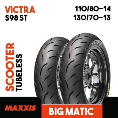 Paket Ban Motor HONDA ADV150 Tubeless MAXXIS VICTRA S98ST Ring 14 13