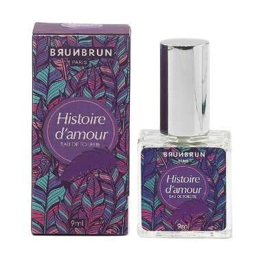 BRUNBRUN PARIS Histoire D'Amour Eau De Toilette Parfum Wanita [9 mL]